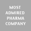 Most Admired Pharma Company