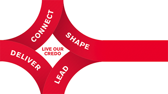 Peter Fasolo talks about how Our Credo guides us to develop employees.